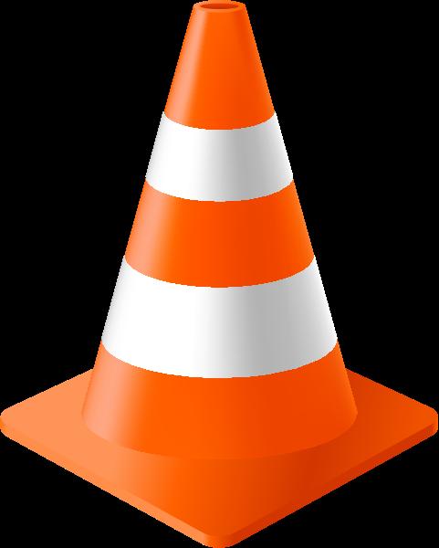 orange cone icon